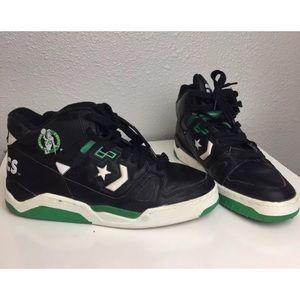 VTG Boston Celtics Sz10 Converse NBA High Tops
